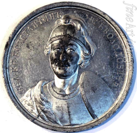 Anonymous - Grand Prince Konstantin Vsevolodovich of Vladimir (from the Historical Medal Series)
