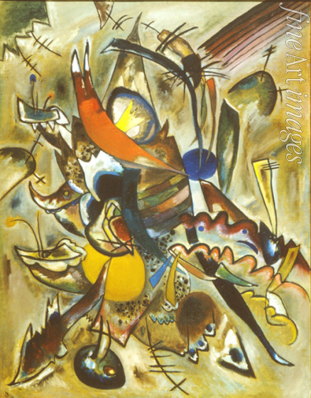 Kandinsky Wassily Vasilyevich - Painting with points (Composition No 223)