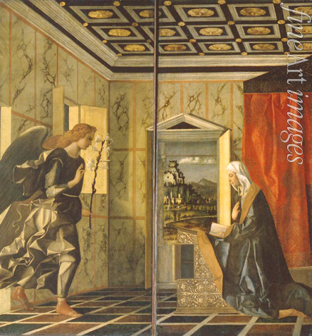 Bellini Giovanni - The Annunciation
