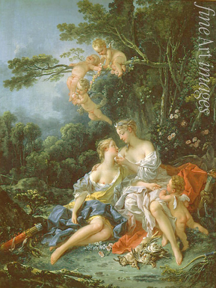 Boucher François - Jupiter and Callisto