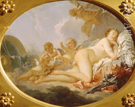 Boucher François - Sleeping Venus