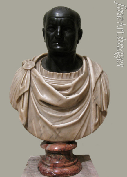 Art of Ancient Rome Classical sculpture - Bust of Vespasian