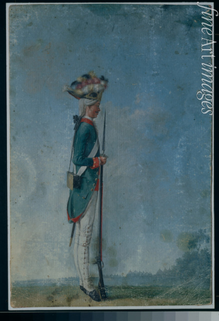 Anonymous - Grenadier of the Preobrazhensky Regiment