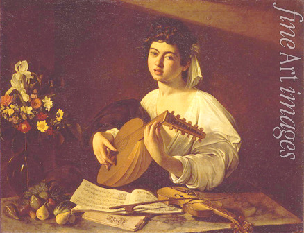 Caravaggio Michelangelo - The Lute Player