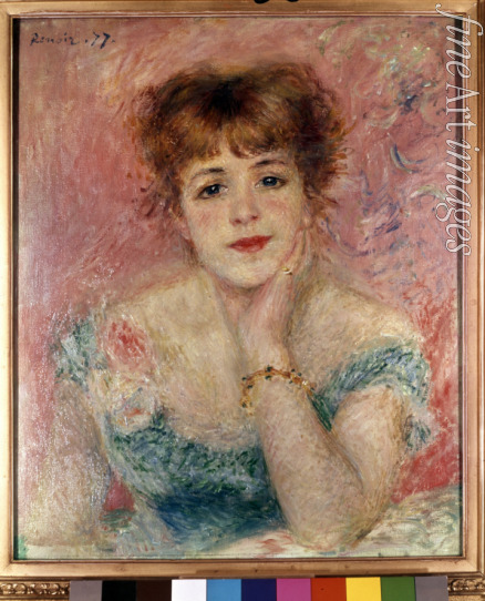 Renoir Pierre Auguste - Portrait of the actress Jeanne Samary