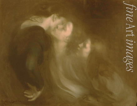 Carrière Eugène - The Motherly Kiss