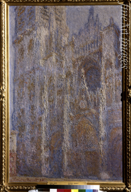Monet Claude - The Rouen Cathedral. Noon (Le Portal et la Tour D'Albane)