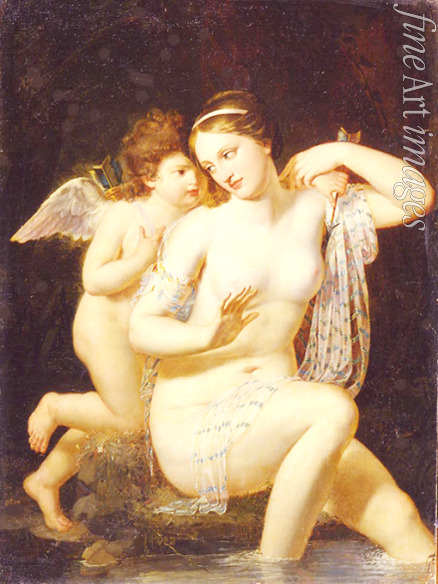Courteille Nicolas de - Venus and Cupid
