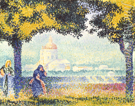 Cross Henri Edmond - The Church of Santa Maria degli Angely Near Assisi