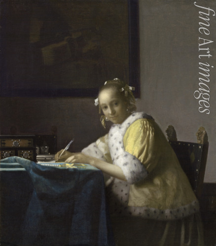 Vermeer Jan (Johannes) - A Lady Writing a Letter