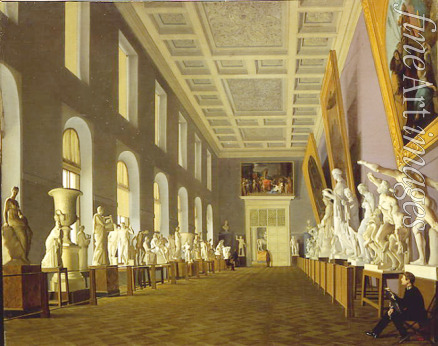 Mikhaylov Grigori Karpovich - The Ancient Gallery in the Academy of Fine Arts