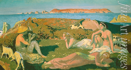 Denis Maurice - The green Beach. Perros Guirec