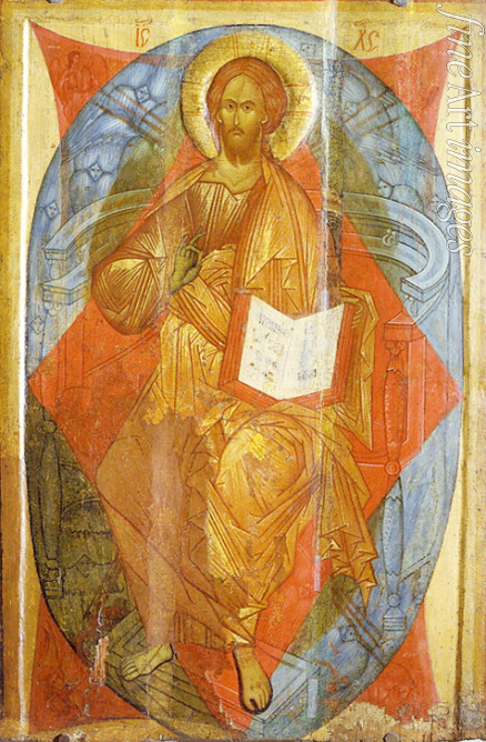 Rublev Andrei (School) - Christ in Majesty (Saviour of the World)
