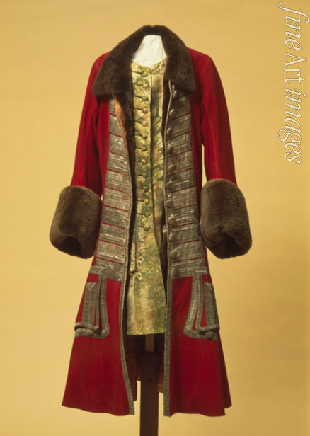 Anonymous master - Winter coat and waistcoat of Peter the Great
