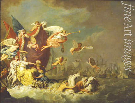 Roode Theodorus de - Allegory of the Victory of Chesma