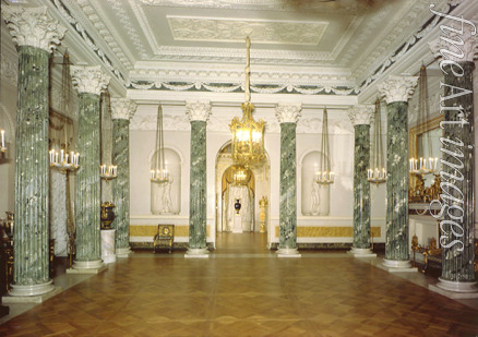 Cameron Charles - The Grecian Hall of the Pavlovsk Palace