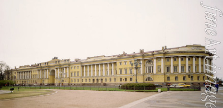 Rossi Carlo - The Senate and Synod Buildings in Saint Petersburg