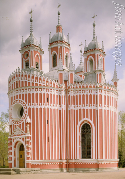 Felten Yuri Matveyevich - The Chesme Church in Saint Petersburg