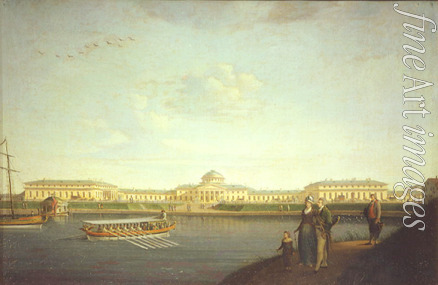 Paterssen Benjamin - Tauride Palace as seen from Neva River