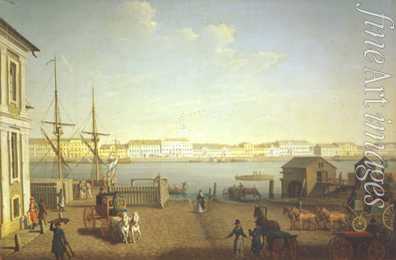Paterssen Benjamin - The English Embankment in St. Petersburg