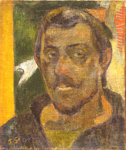 Gauguin Paul Eugéne Henri - Self-portrait