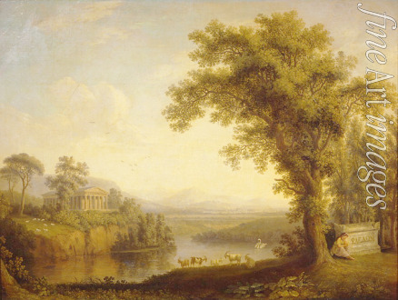 Hackert Jacob Philipp - Antike Landschaft mit Phaetons Grab