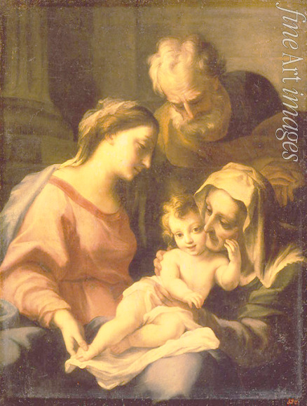 Giordano Luca - The Holy Family