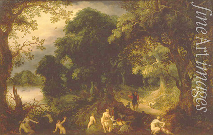 Govaerts Abraham - Diana and Actaeon
