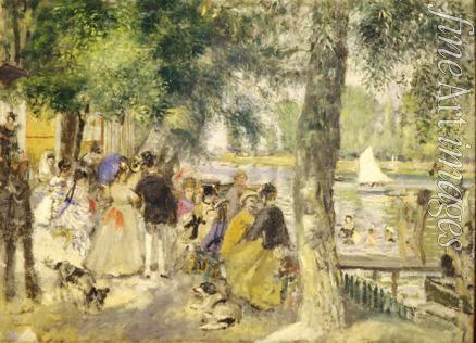Renoir Pierre Auguste - Bathing on the Seine (La Grenouillére)