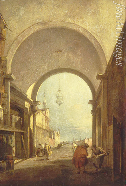 Guardi Francesco - Stadtansicht
