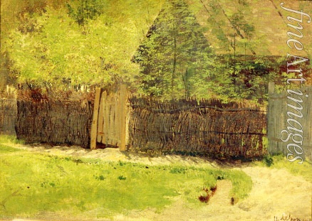 Levitan Isaak Ilyich - First greenery. May