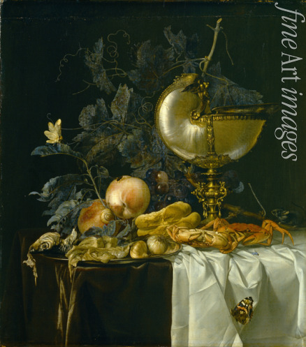 Aelst Willem van - Still-Life with Nautilus Cup