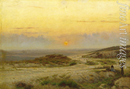Lund Carl Emil - Sunset