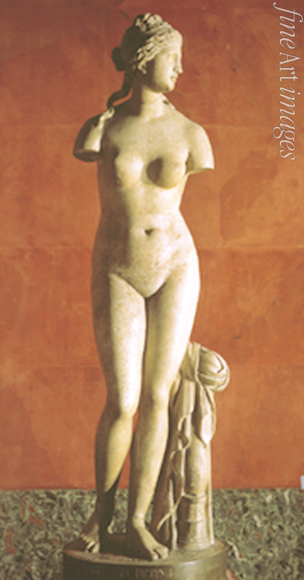 Art of Ancient Rome Classical sculpture - The Venus Tauride or Venus of Tauris (Aphrodite) (Roman copy from a Greek Original)