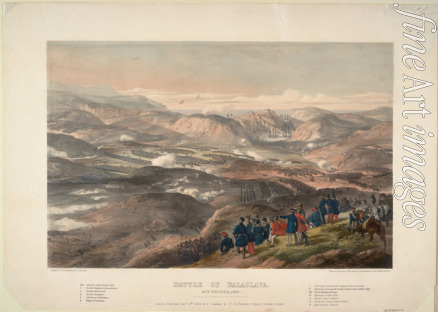 Maclure Andrew - The Battle of Balaclava on October 25, 1854