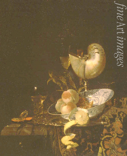 Kalf Willem - Still life with a moother-of-pearl goblet