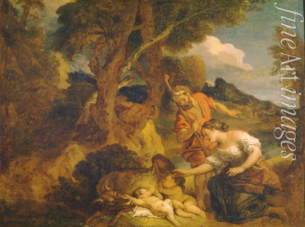 La Fosse Charles de - Finding of Romulus and Remus