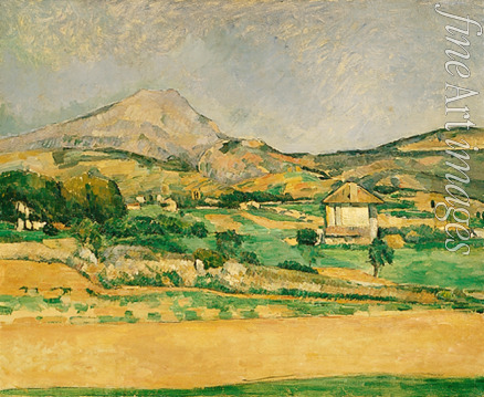 Cézanne Paul - The Plain of the Mount Sainte-Victoire