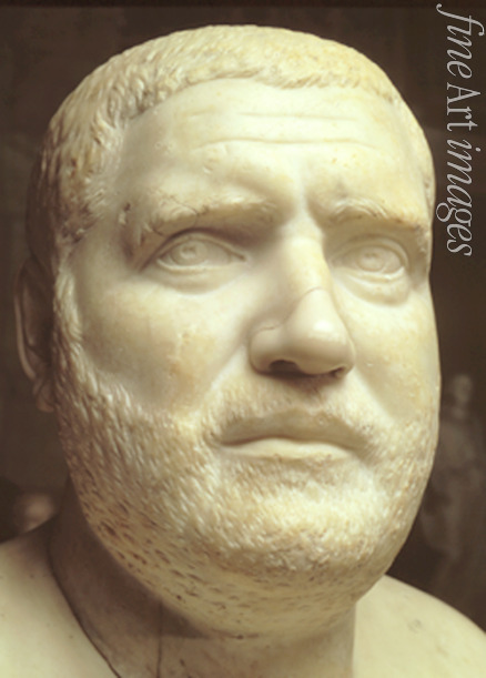 Art of Ancient Rome Classical sculpture - Portrait bust of Emperor Balbinus