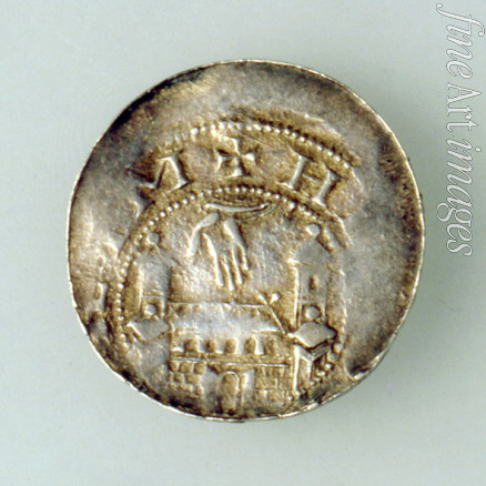 Numismatic West European Coins - Denar of the City of Hildesheim (Time of Emperor Henry III) Reverse