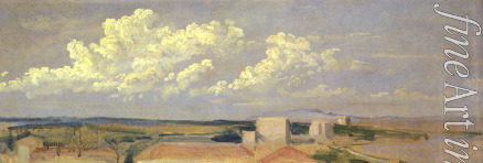 Ivanov Alexander Andreyevich - Clouds over the sea-coast
