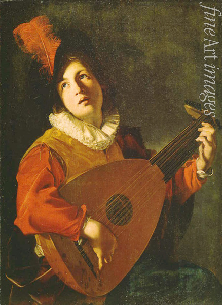 Manfredi Bartolomeo - The Lute player