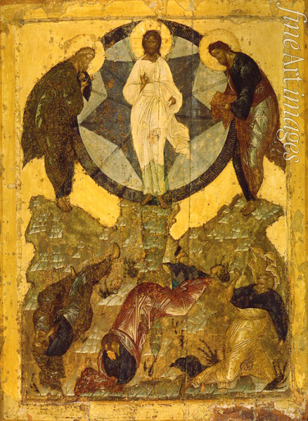 Russian icon - The Transfiguration of Jesus