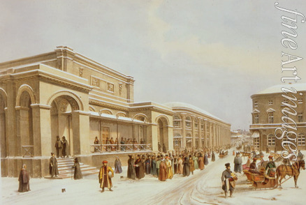 Arnout Louis Jules - The new stock exchange and the Arcade in Moscow