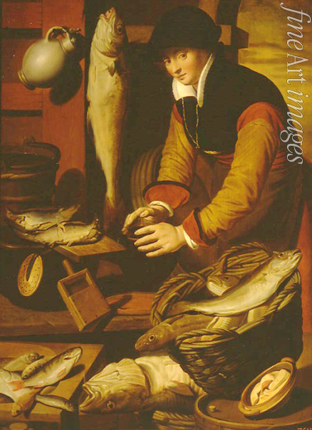 Pietersz Pieter the Elder - Fishwife