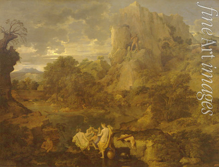 Poussin Nicolas - Landscape with Hercules and Cacus