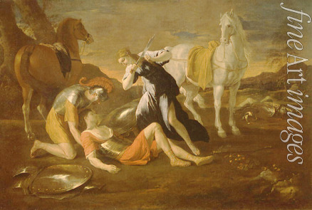 Poussin Nicolas - Tancred and Erminia