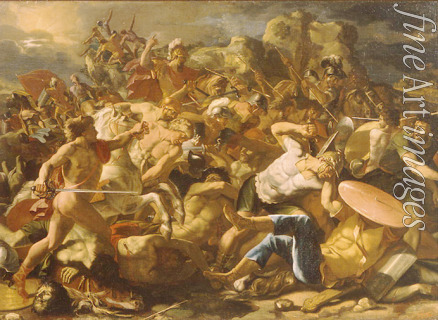 Poussin Nicolas - Victory of Joshua over the Amorites