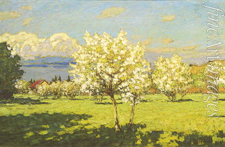 Petrovichev Pyotr Ivanovich - Cherry Trees Blooming