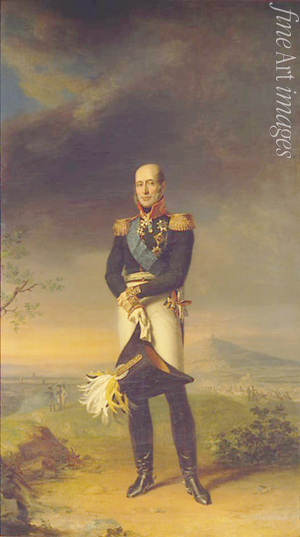 Dawe George - Portrait of Field marshal Count Mikhail Barklay-de-Tolli (1761-1818)